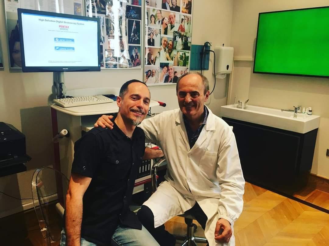 Dottor Franco Fussi - Maestro Antonio Di Corcia